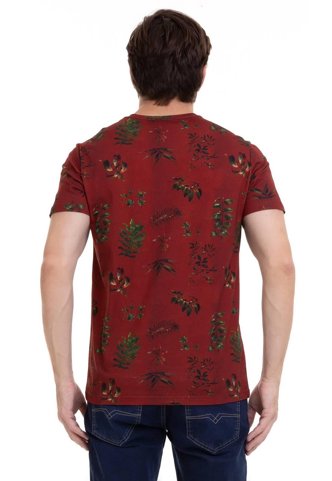 Camiseta Estampada Em Malha