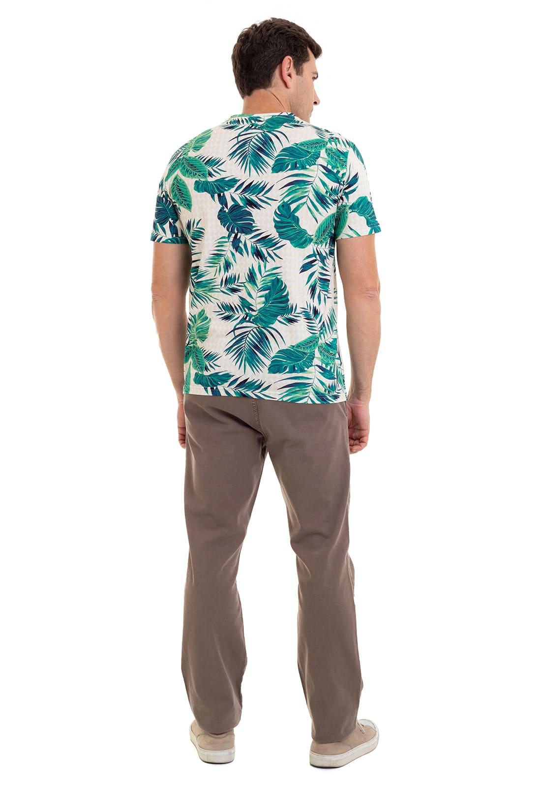 Camiseta Estampada Hifen em Malha Premium