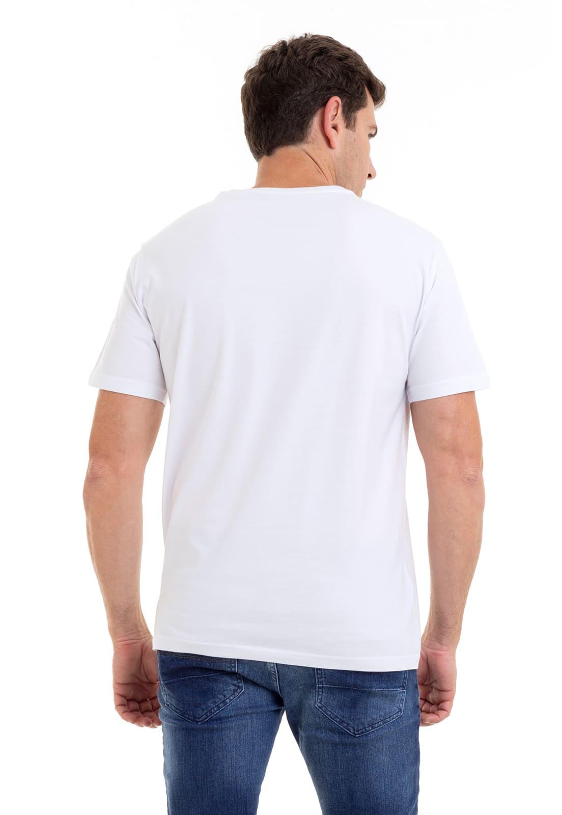 Camiseta Hifen Básica Branca
