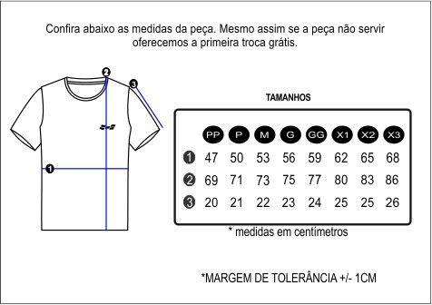 Camiseta Masculina 100% Algodão Super Premium, Na Cor Mescla Escuro