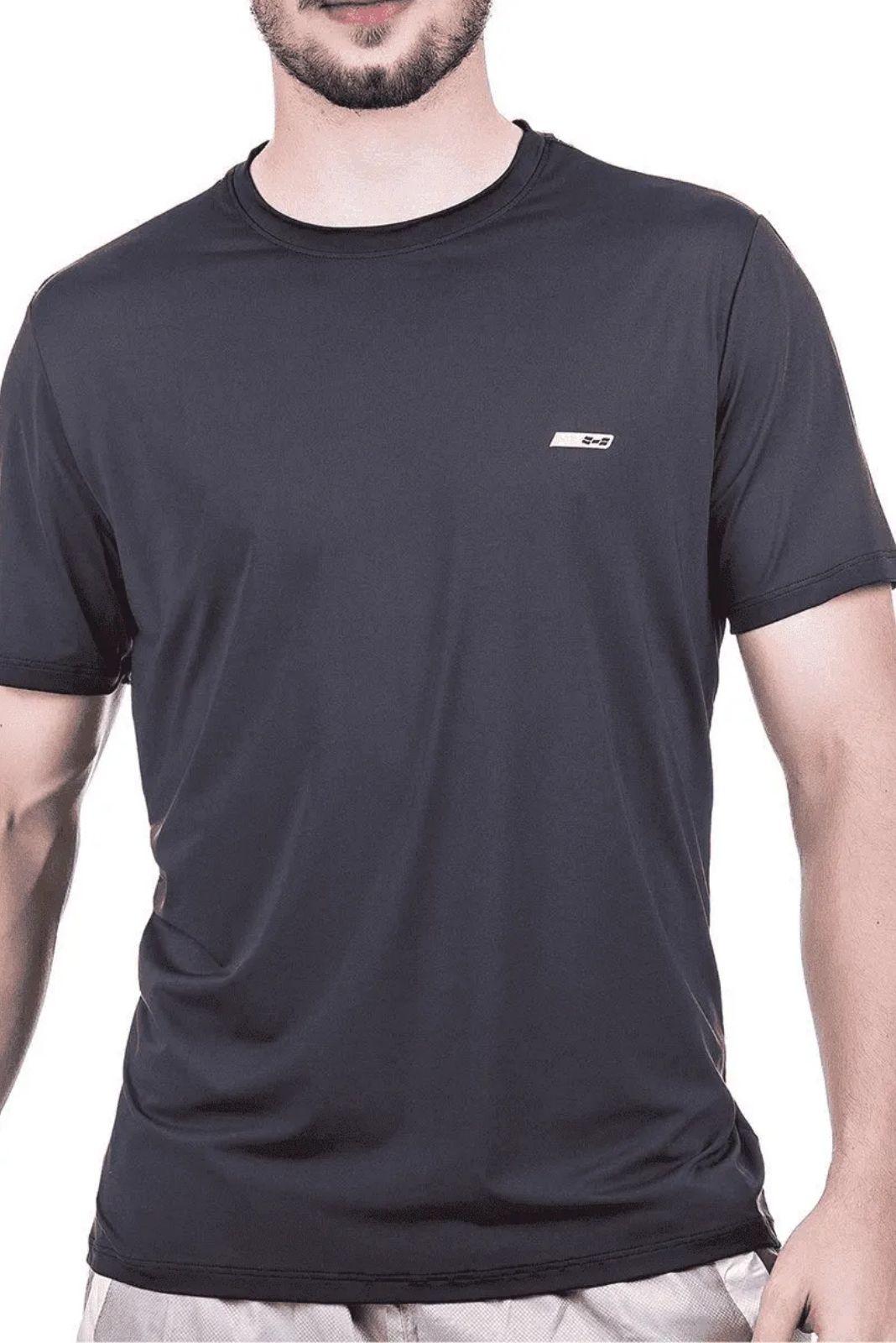 Camiseta Masculina Hifen com Proteção Solar UV 50+ - Manga Curta - Linha Dry Fit