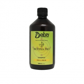 Detra Shampoo para Cabelos com Queda e Quebra   Biotina Pro 500ml