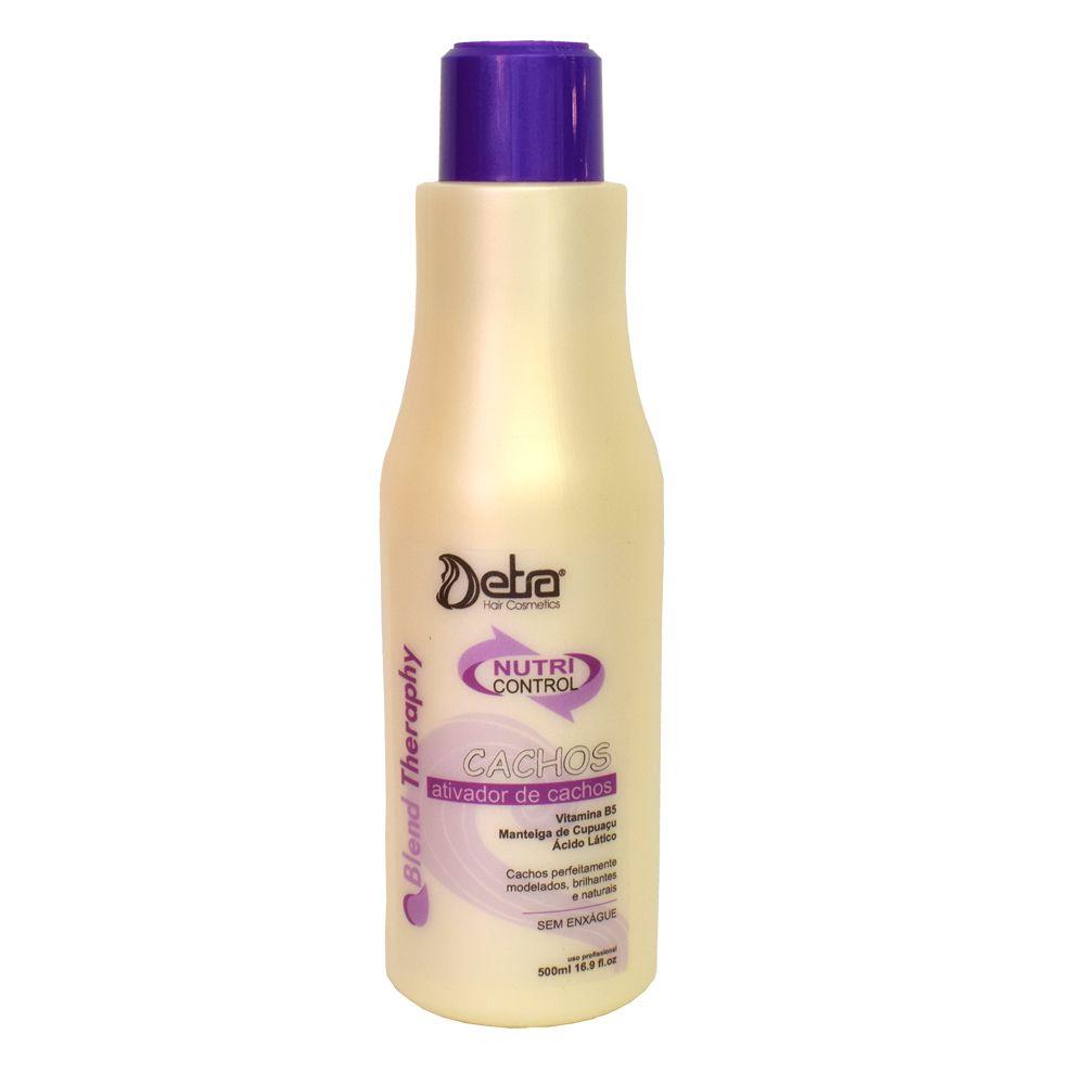 Ativador de Cachos Nutri Control Detra Hair Cosmeticos 500ml