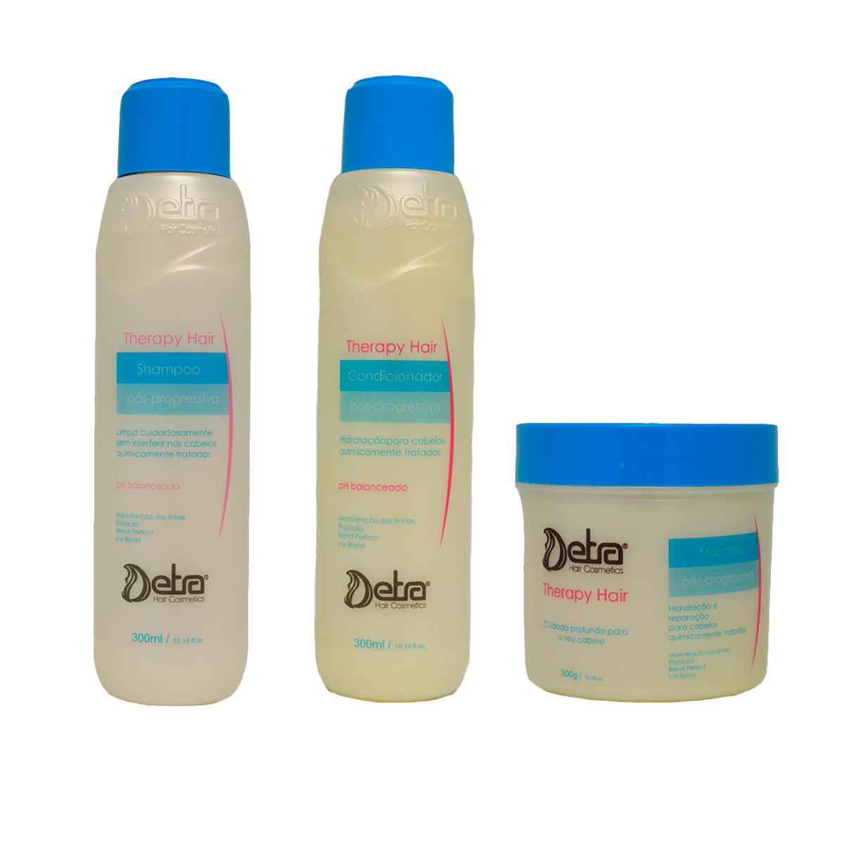 Detra Hair cosmeticos  kit Capilar Pós Progressiva  Therapy Hair