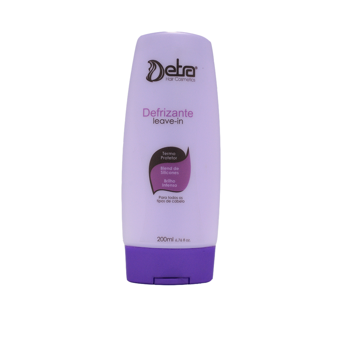 Detra Hair Cosmeticos leave-in defrizante Capilar 200ml