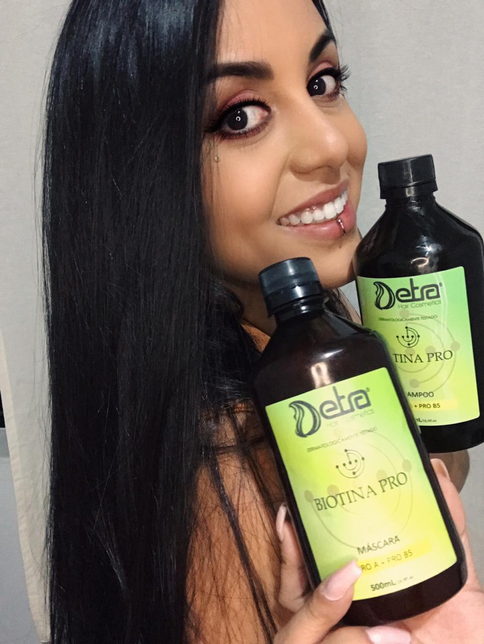 Detra Hair Cosmeticos  Mascara Biotina Pro 500ml