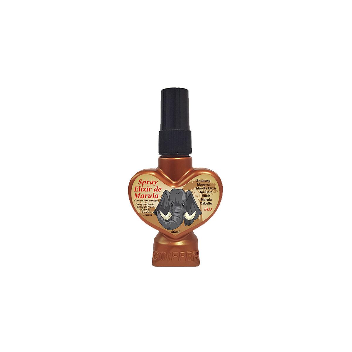 Finalizador para cabelos  Elixir Black Rose Coiffer 80ml
