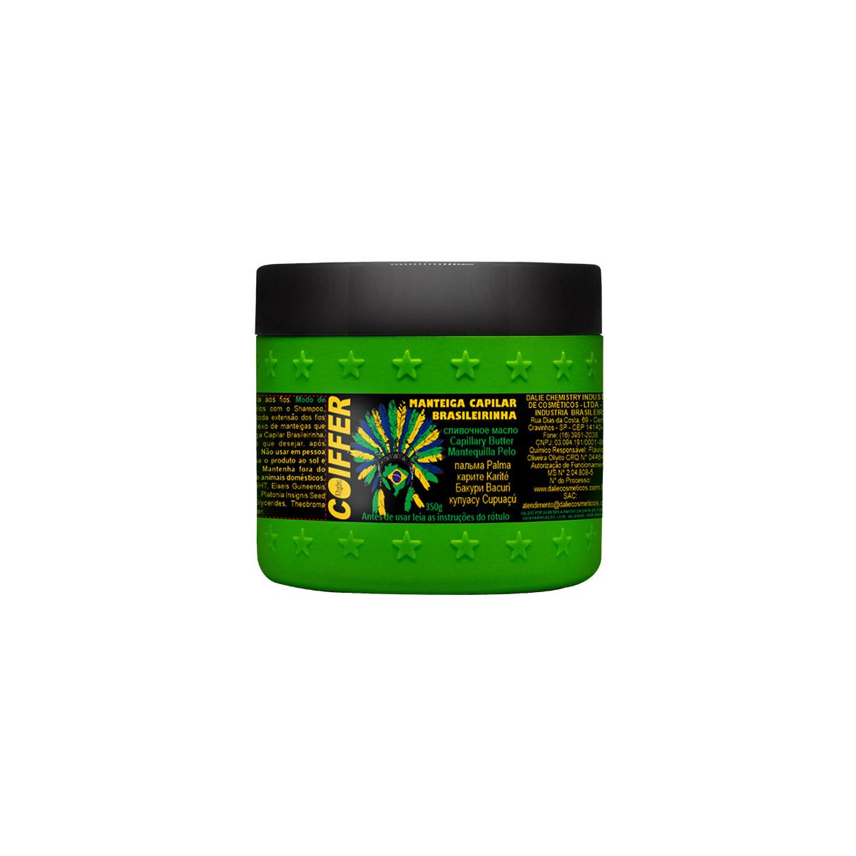 Hidratação Capilar Manteiga Coiffer 350g