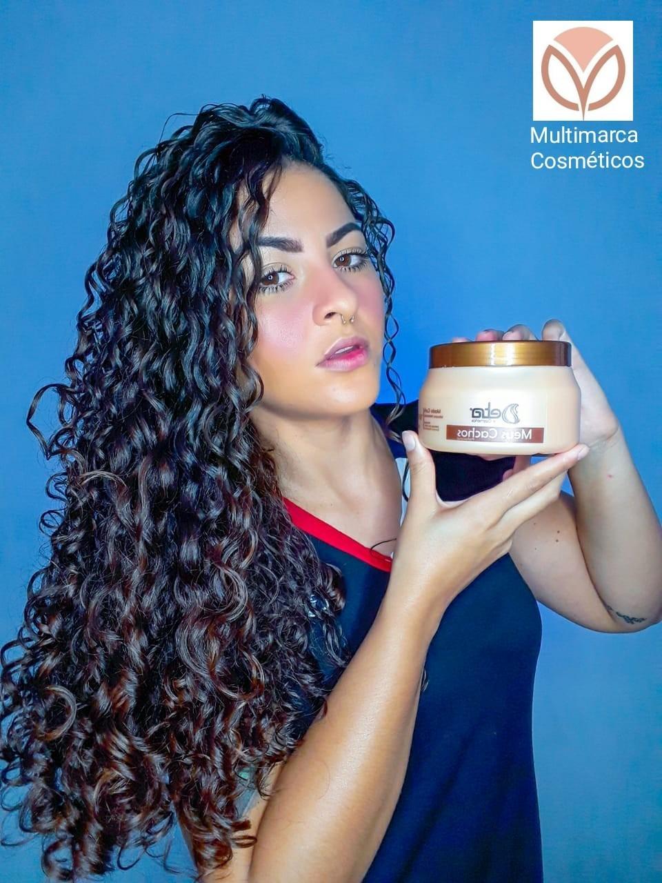 Kit para Cabelos Cacheados Meus Cachos Detra Hair Cosmeticos