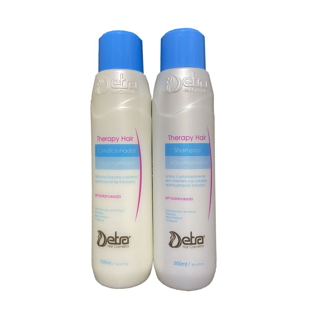 Kit Pós Progressiva Therapy Hair Detra Hair Cosmeticos (2 Unidades)