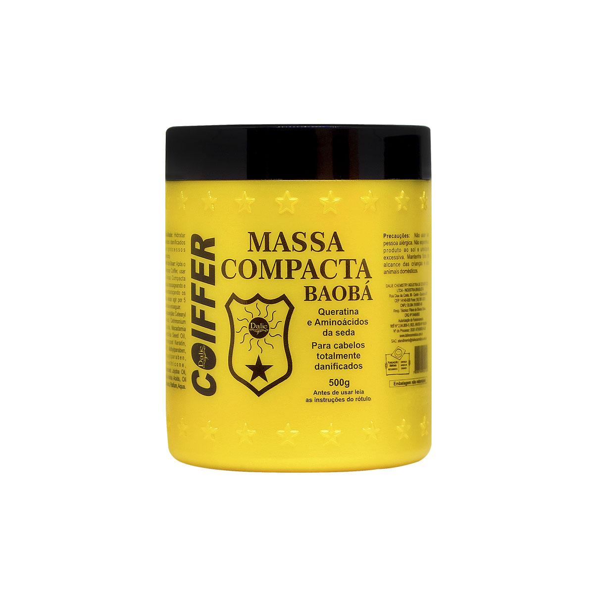 Mascara Capilar Capilar Massa Compacta Baoba Coiffer 500g