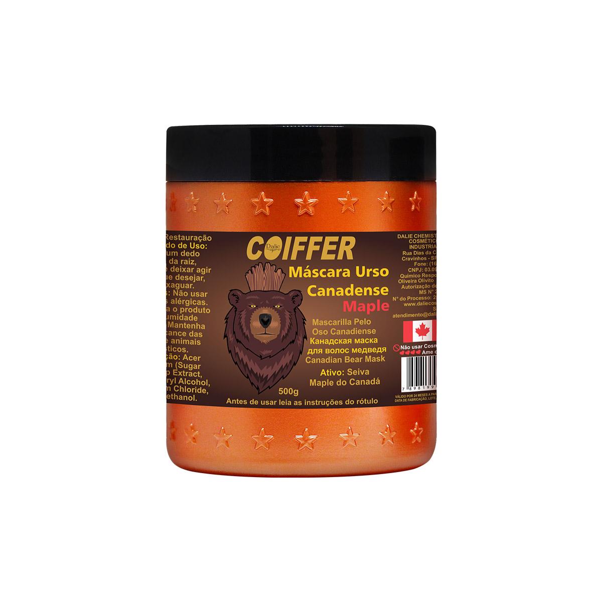 Máscara Capilar Urso Canadense Coiffer 500g