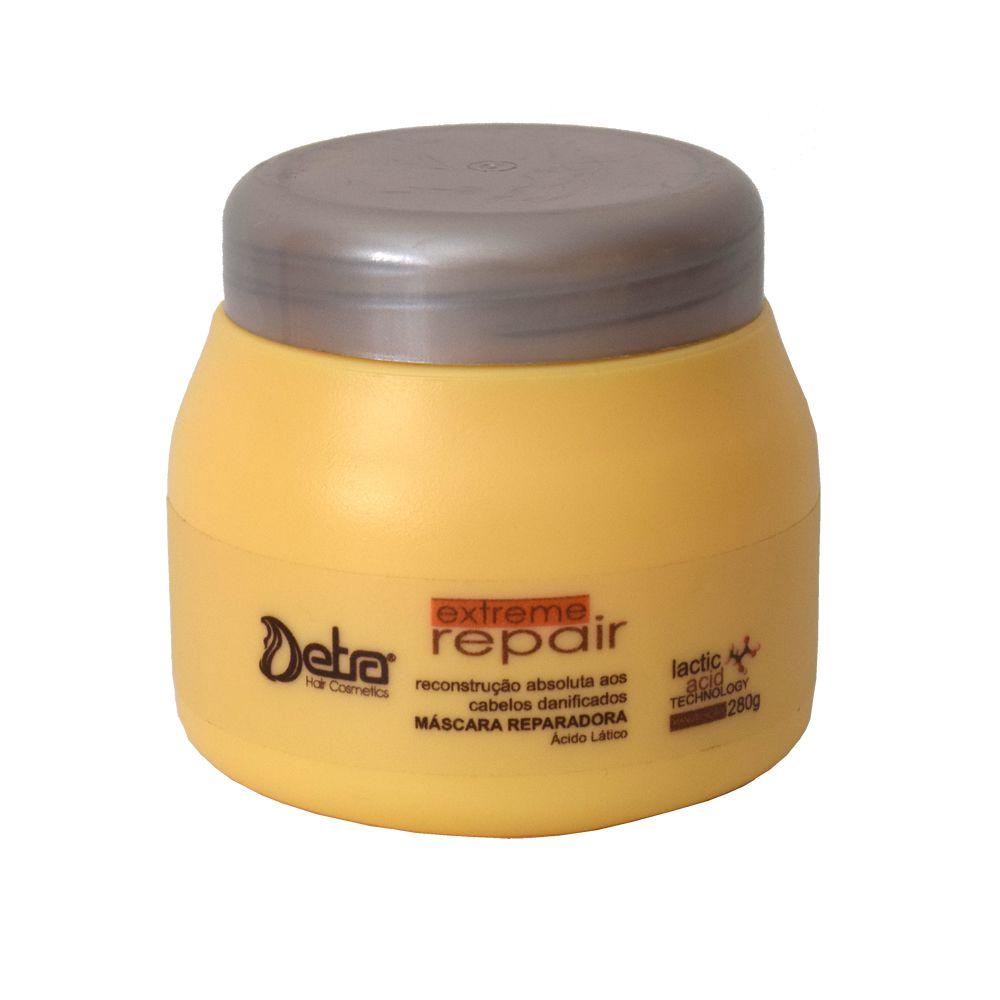 Mascara de  Reconstrução Capilar  Extreme Repair  Detra 280ml