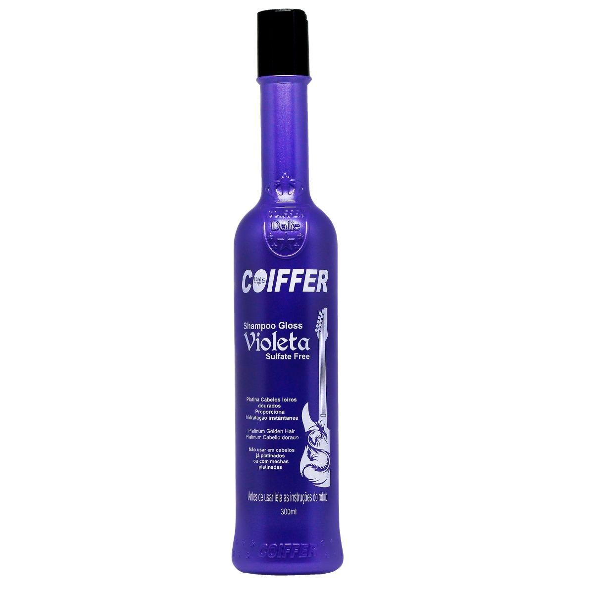 Shampoo para Cabelos  Gloss Violeta Coiffer 300ml