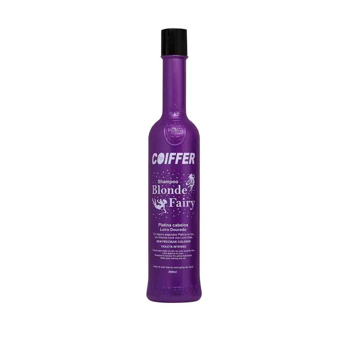 Shampoo Matizador para Cabelos  Blond Fairy Coiffer 300ml