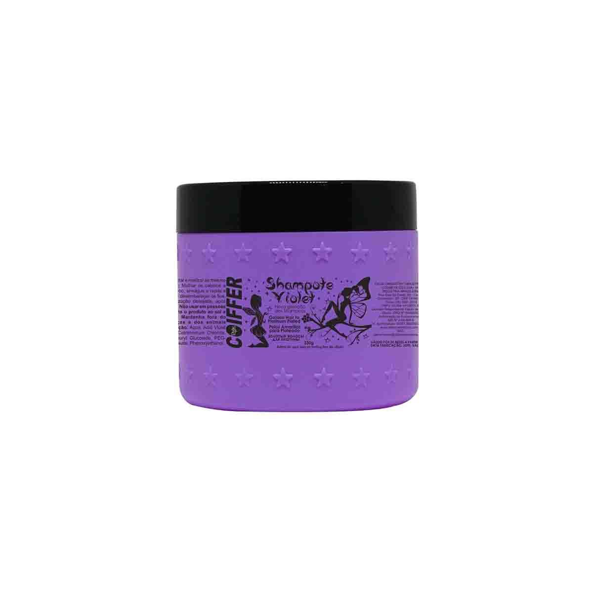 Shampoo Matizador Shampote Violet Coiffer 300g