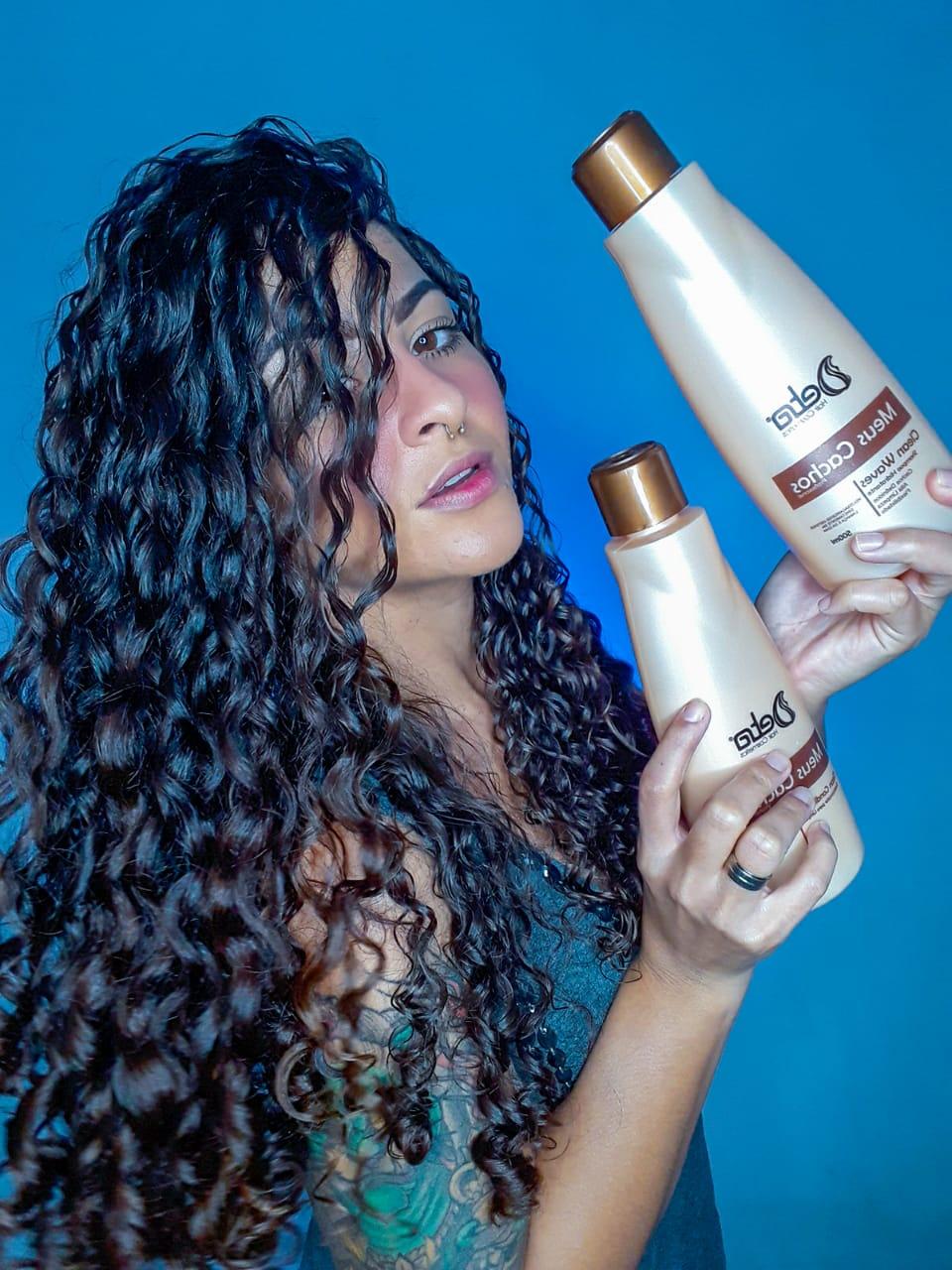 Shampoo Para Cabelos Cacheados Detra Hair Cosmeticos 500ml