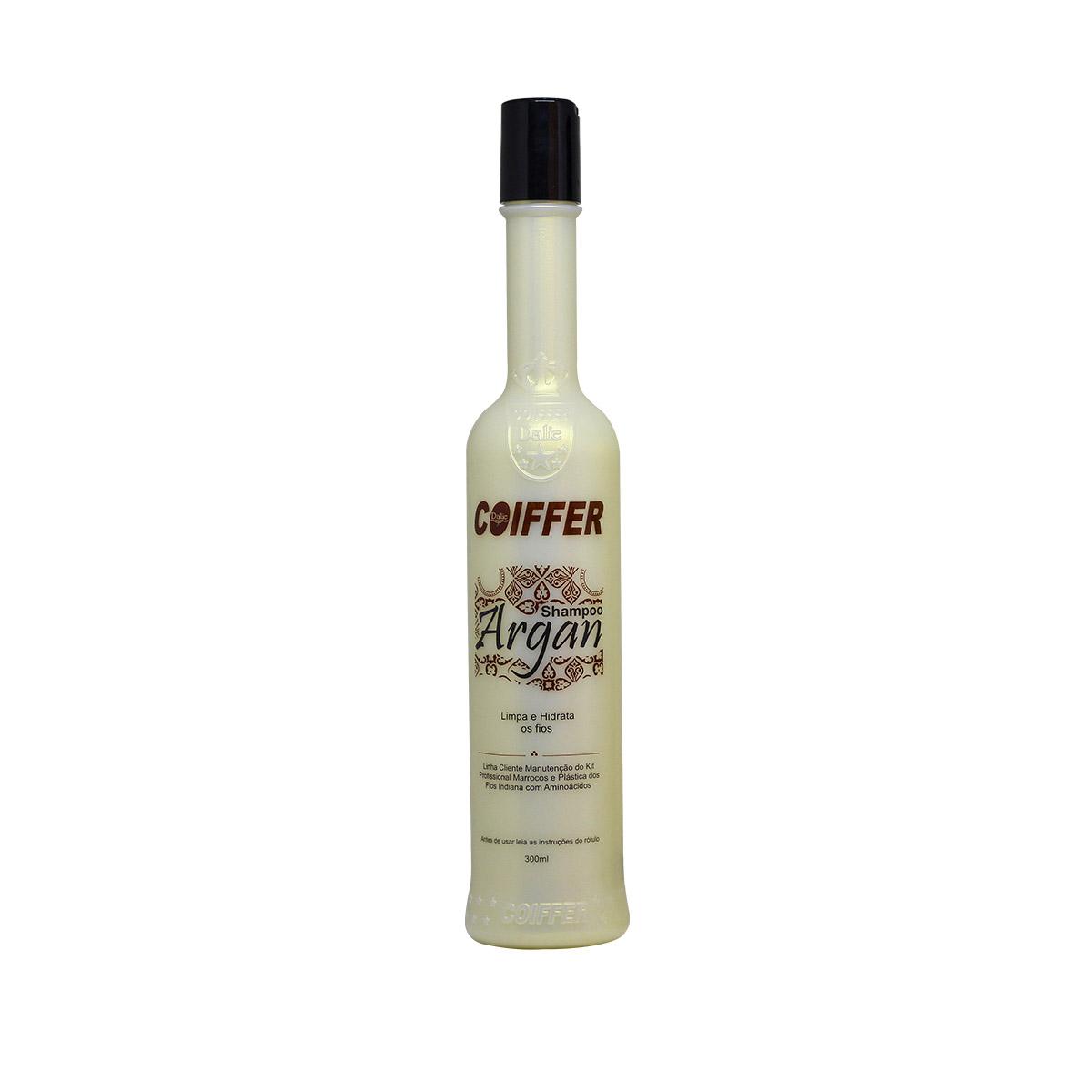 Shampoo para Cabelos  de Argan Coiffer 300ml