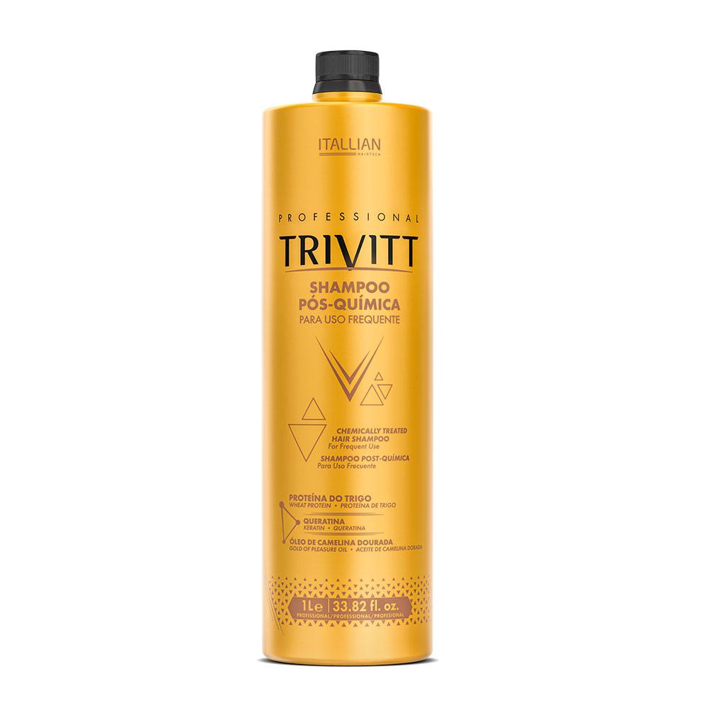 Shampoo Para Cabelo Pós-Química Trivitt 1L