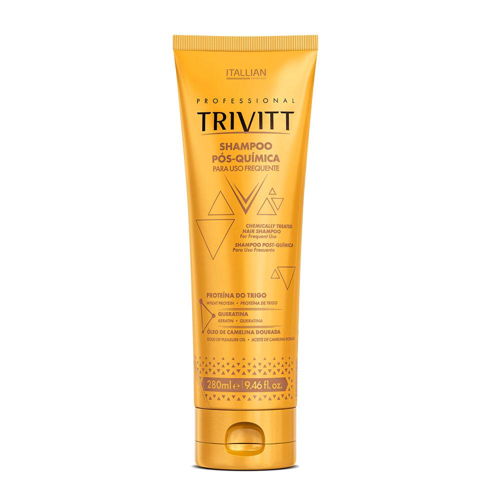Shampoo Para Cabelo Pós Química Trivitt 280ml