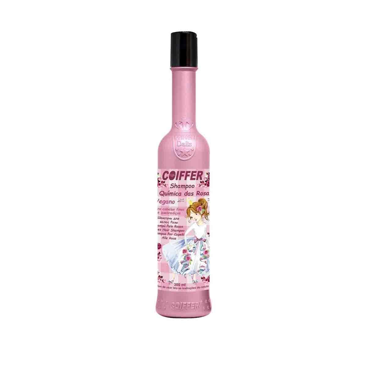 Shampoo Química das Rosas Coiffer 300ml