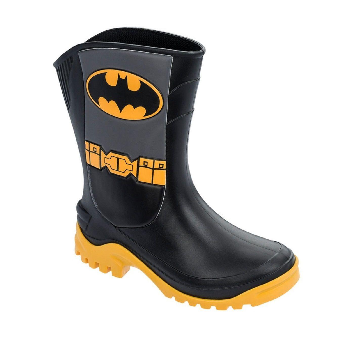 dadc4bf8d10 Galocha Menino Liga Justiça Batman Preto Grendene - Clique+ Calçados