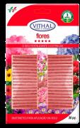 Fertilizante Mineral Misto em Bastonetes Para Flores em Vasos em Canteiros