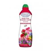 Fertilizante Plantas e Flores de Sacadas e Varandas 1 Litro - Vithal