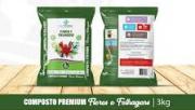 Substrato Flore e Folhagens 3kg - CalTerra