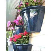 Vaso de Parede 22cm Fibra de Vidro - Vaso e Cor