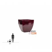 Vaso També P 36cm em Fibra de Vidro - Vaso e Cor