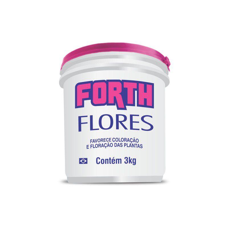 Fertilizante para Flores Forth 3kg