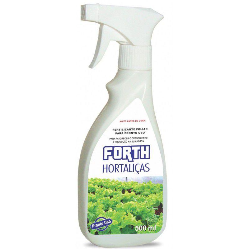 Fertilizante Líquido Foliar Forth Hortaliças - Pronto Uso