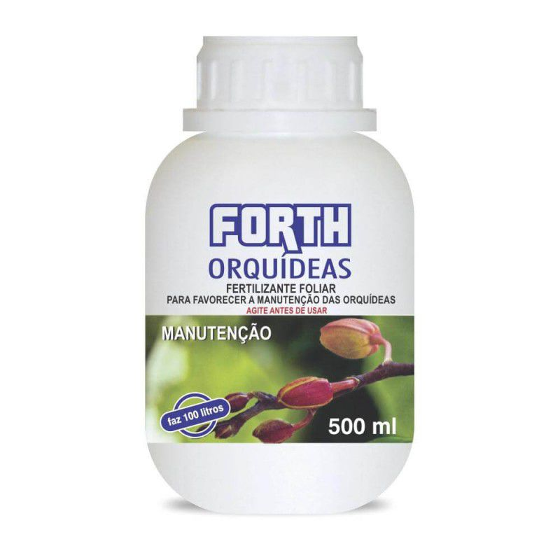 Fertilizante Líquido Foliar Forth Orquídeas Manutenção - 500ml