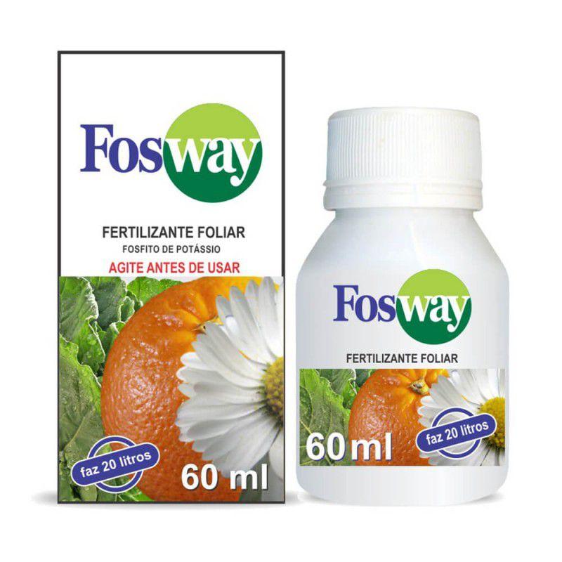 ‹ › Fertilizante Adubo Líquido Foliar Fosfito de Potássio 60ml