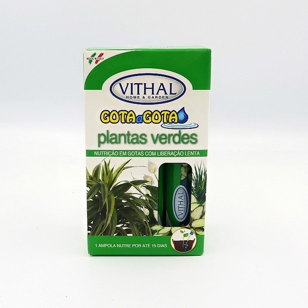Fertilizante Gota a Gota Plantas Verdes 192ml - Vithal
