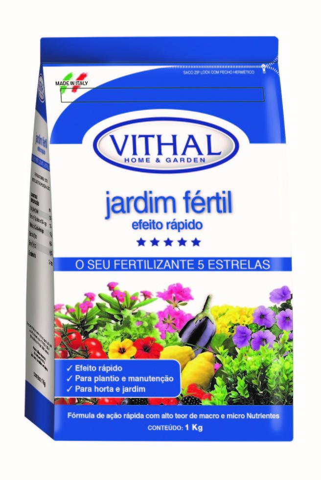 Fertilizante Jardim Fértil 1Kg - Vithal