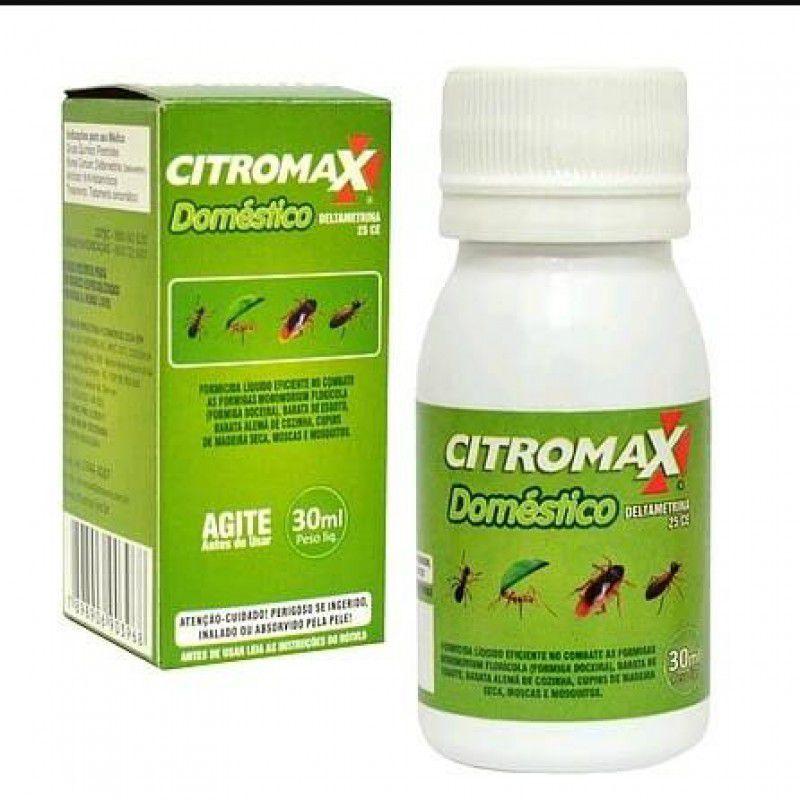 Inseticida Veneno Citromax Doméstico  30ml