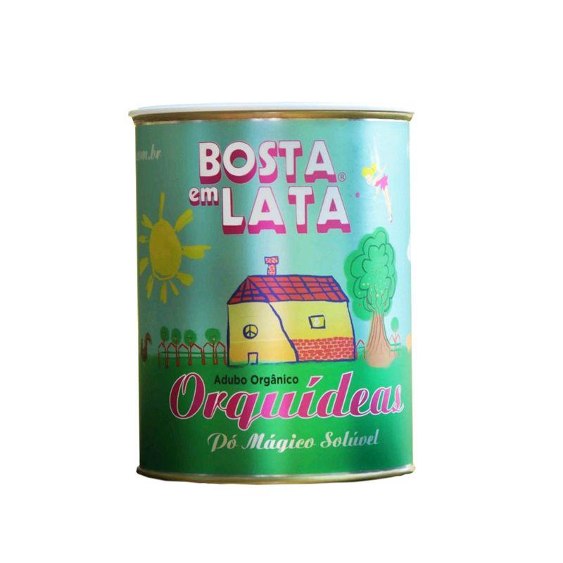 Adubo Orgânico para Orquídeas Bosta em Lata Kit com 3
