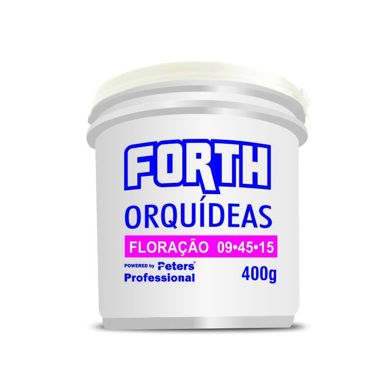 Kit Fertilizante Adubo Forth - 3 Peters 400g + Enraizador 60ml + Osmocote 400g
