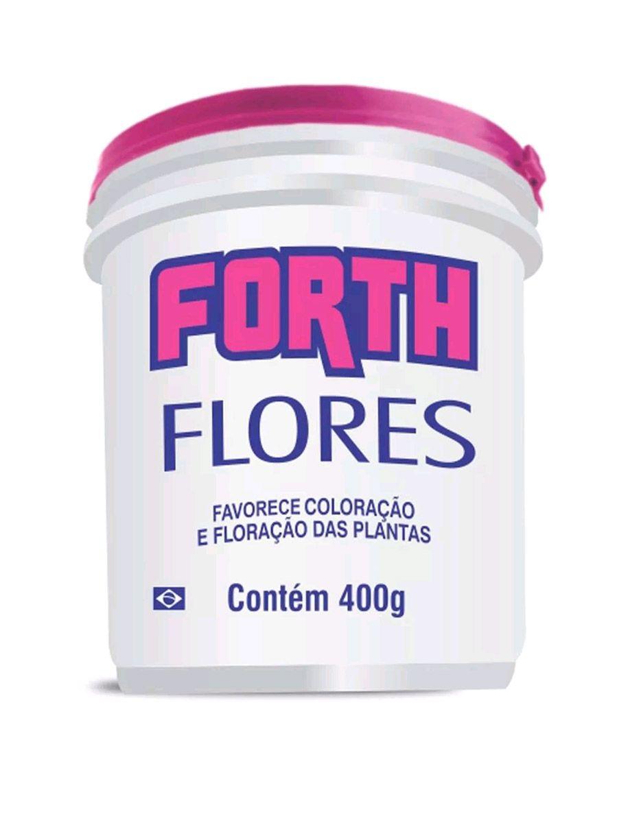 Kit Completo de Fertilizantes para Flores Forth 400g