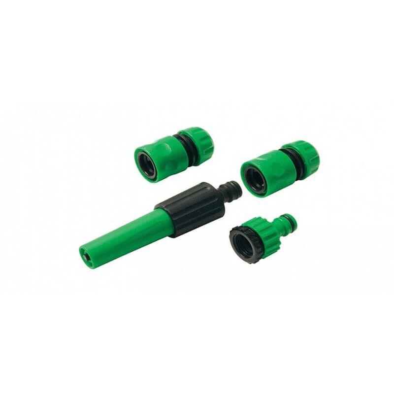 Linha Água - Conjunto de Irrigação Ajustável para Mangueiras com 4 peças