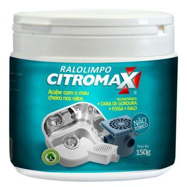 Ralo Limpo Citromax 70g - Acabe com o Mau Cheiros nos Ralos