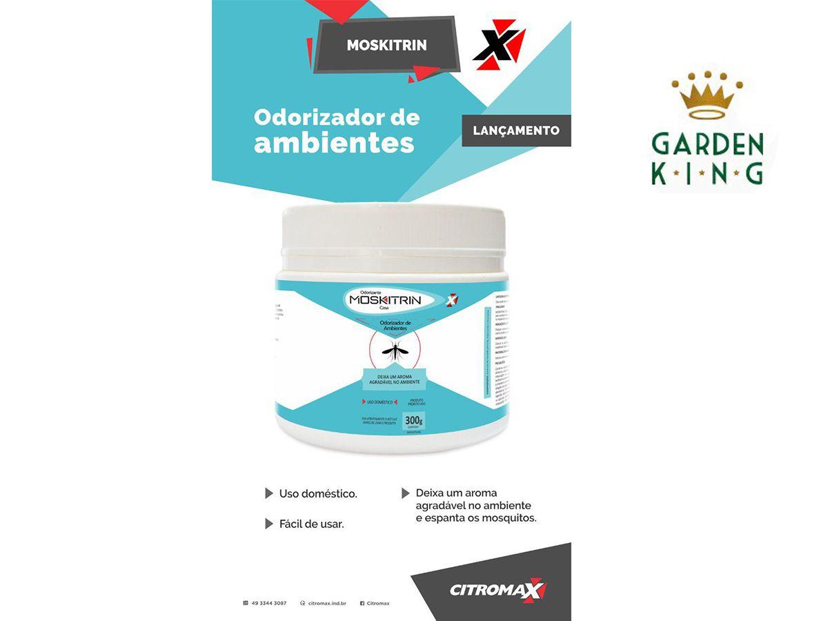 Repelente Moskitrin Gel 300g - Odorizante de Ambientes - Afasta Espanta Moscas Mosquitos Pernilongo