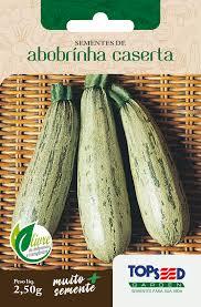 Semente de Abobrinha Caserta 2,50g