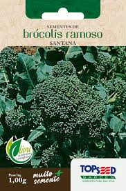 Semente de Brócolis Ramoso 1,00g