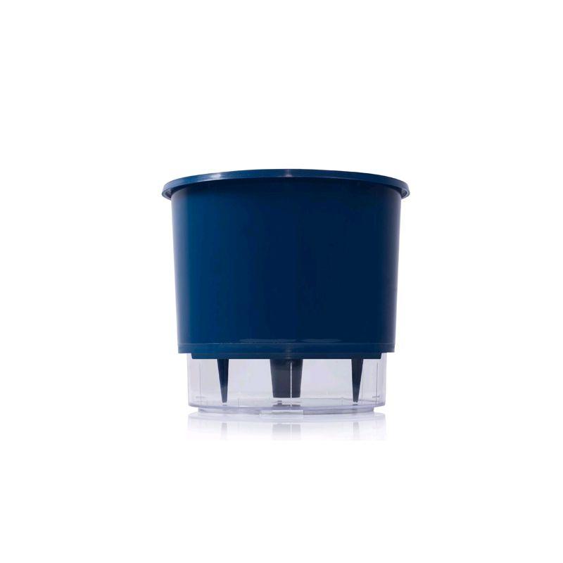 Vaso Auto Irrigável Azul Tamanho 03 - Raiz
