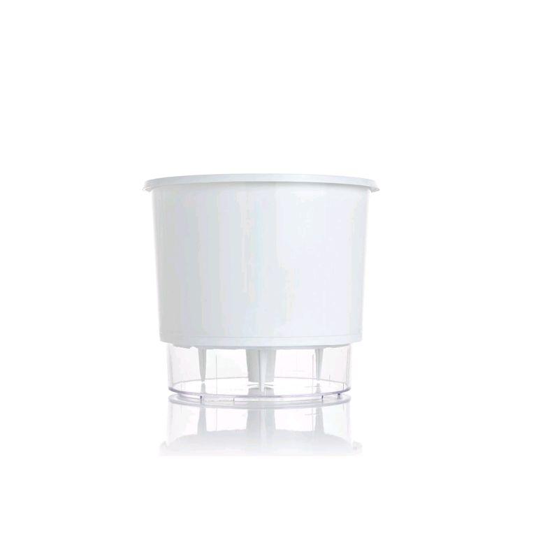 Vaso Auto Irrigável Branco Tamanho 03 - Raiz