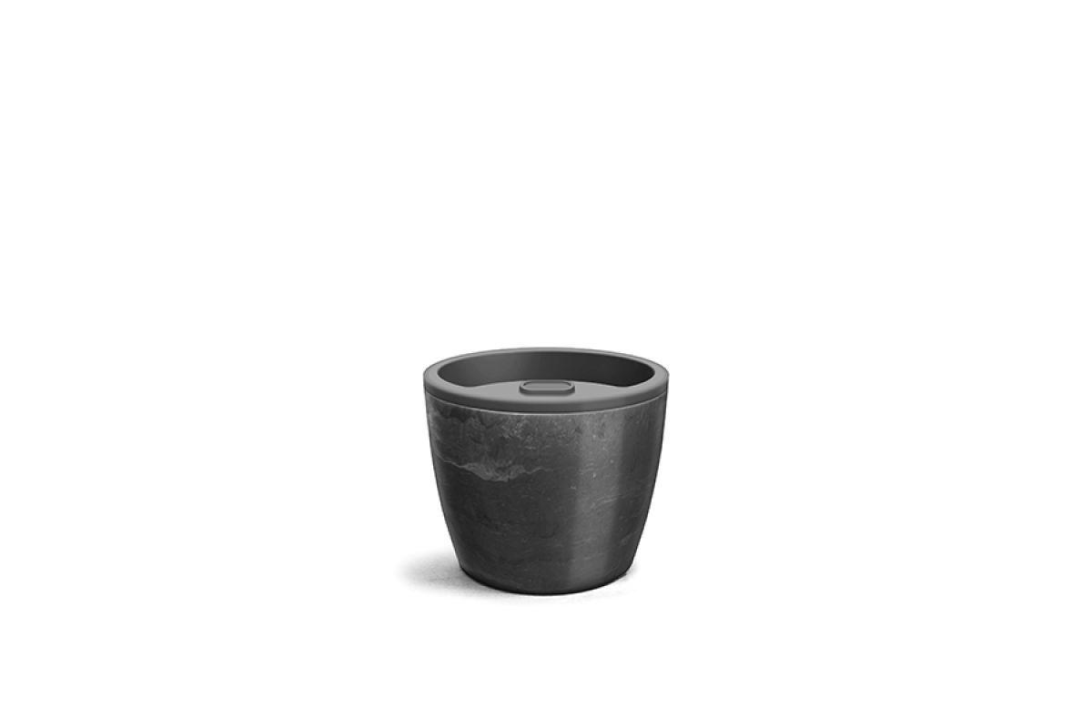 Vaso Auto Irrigável Elegance - Nutriplan 12,5cm x 15,4cm
