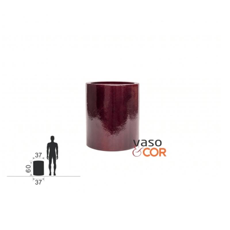 Vaso Fibra de Vidro - Cilindro P 60cm Vaso e Cor